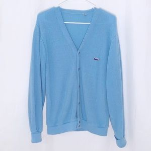 Lacoste Button Up Cardigan